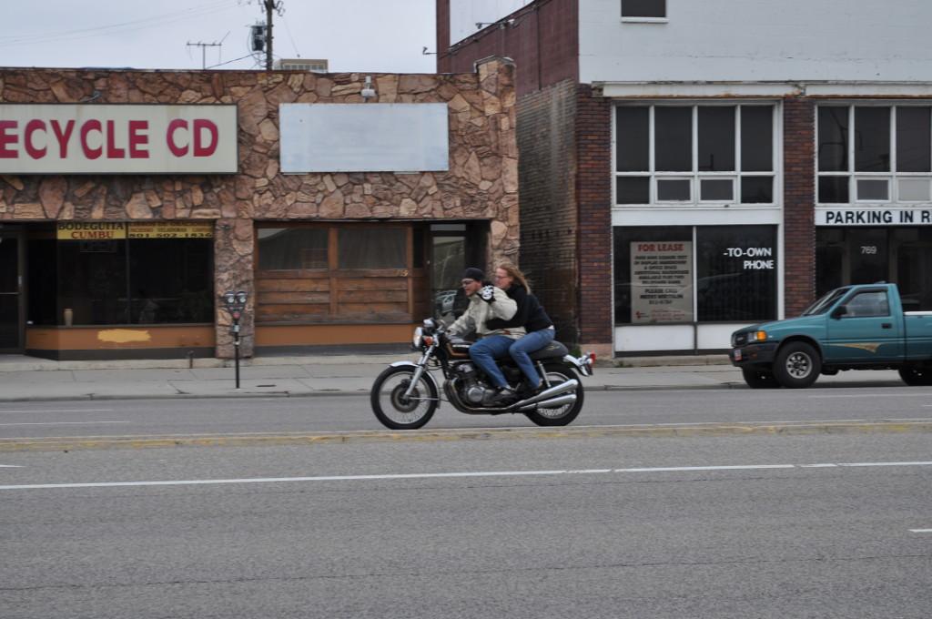 Motorkáři v Salt Lake City