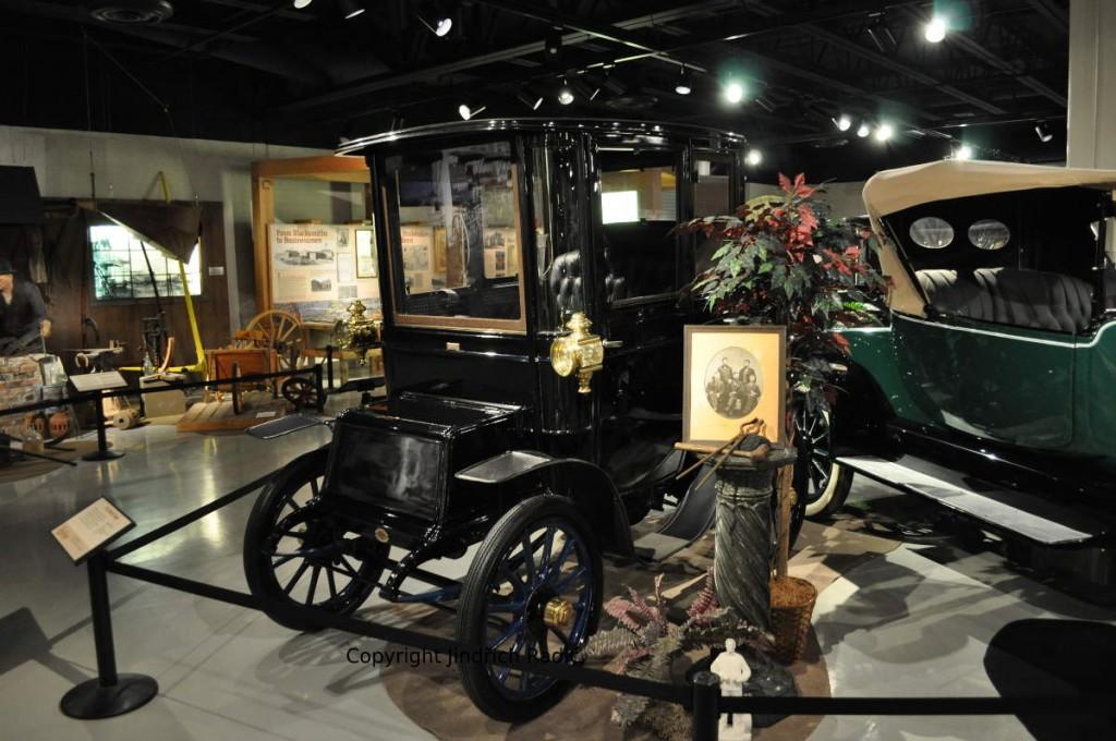 Elektrický automobil z roku 1911