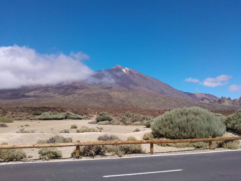 Tenerife sopka Pico de Teide